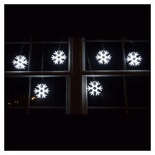Giant Snowflakes String Light in White