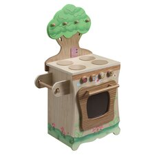 Enchanted Forest Kitchen Stove in Natural