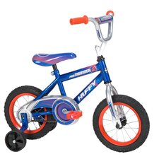 Pro Thunder Cruiser Bike with Training Wheels in Blue