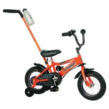 Grit Bike with Training Wheels in Orange