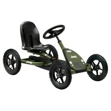 Jeep Junior Pedal Go-Kart in Green