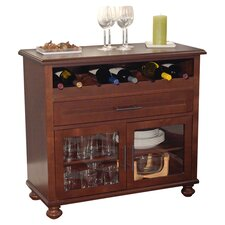 Tivoli 8 Bottle Wine Cabinet in Chestnut