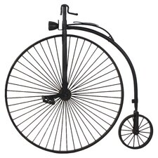 Big Bicycle Wall Decor in Black