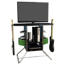 "34"" Centipede TV Stand in Black"