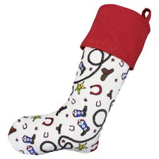Giddy Up Rainmaker Simply Soft Lined Stocking