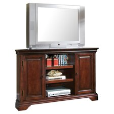 "Lafayette 50"" Corner TV Stand in Cherry"