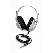 Monaural Headphone 5 Coiled Cord