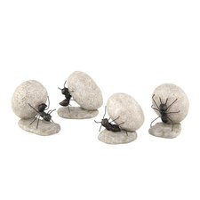 Ants Garden Statues (Set of 4)