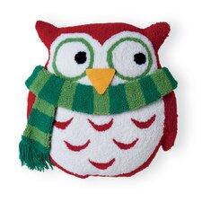 Owl 3D Hooked Acrylic / Cotton Pillow