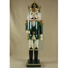 Jacket King Painted Wood Nutcracker