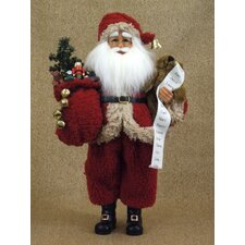 Crakewood Christmas Past Santa Claus Figurine