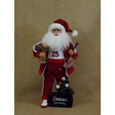 Crakewood Sports Fanatic Santa Claus Figurine