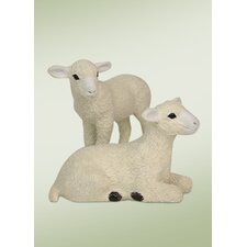Lambs Figurine (Set of 2)