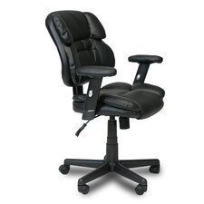 Hidup Mid-Back Leather Executive Chair