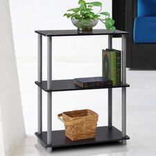 3 Tier Rack Bookshelf Bookcase Display Storage Cabinet