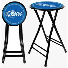 Bud Light Cushioned Folding Stool