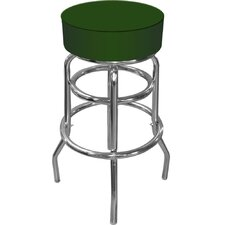 High Grade Padded Bar Stool in Green
