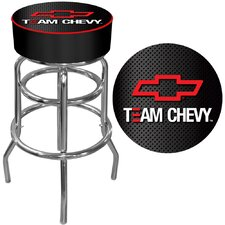 Team Chevy Racing Padded Bar Stool