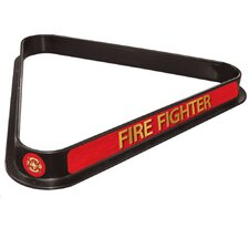 Fire Fighter Billiard Ball Triangle Rack
