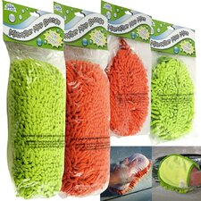 4 Piece Clean at Last Microfiber Washing Tool Set