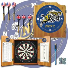 NCAA Dart Cabinet in Medium Wood