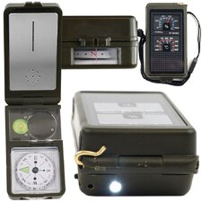 10-in-1 Multi-Function Compass with LED Light