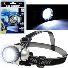7 LED Headlamp with Adjustable Strap