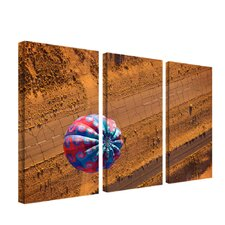 Cracked Highway by Aiana Canvas Art (Set of 3)