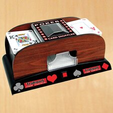 Trademark Poker Wooden Card Shuffler