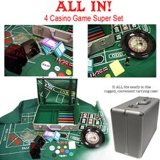 370 Piece All In- The 4 Casino Game Super Set