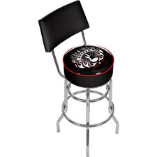 Fender Spirit of Rock and Roll Padded Barstool with Back