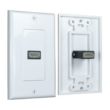 HDMI Wall Plate 1 Port