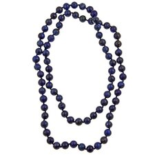 36 Inches Lapis Lazuli Endless Necklace