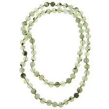 Endless Prehnite Necklace