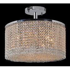 Prism 9 Light Semi Flush Mount