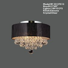 Gastby 3 Light Semi-Flush Mount