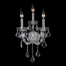 Lyre 3 Light Wall Sconce