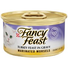 Marinated Morsels Turkey Wet Cat Food (3-oz can,case of 24)