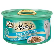 Elegant Medley Turkey Florentine Cat Food (Case of 24)