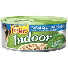 Indoor Ocean Whitefish Wet Cat Food (5.5-oz can, case of 24)