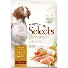 Selects Chicken and Brown Rice Dry Dog Food
