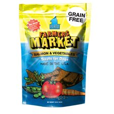 Farmers Market Salmon & Vegetable Dog Treats