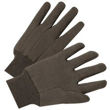 1000 Series Jersey Gloves - 4503 9 oz brown jersey cotton glove