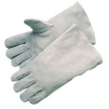 "Gray Welder Gloves - e7270 welder graycow 13 1/2"" fully lined"