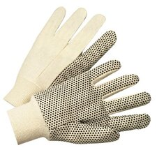 1000 Series Canvas Gloves - 4505a dotted canvas 10 oz heavy nap