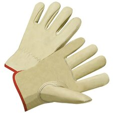 4000 Series Cowhide Leather Driver Gloves - 6117s premium grain drivers glove