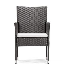 Catalan Outdoor Dining Arm Chair with Cushion