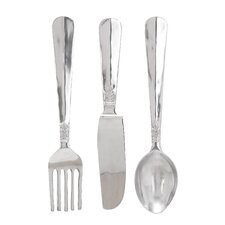 Aluminum Utensil Set (Set of 3)