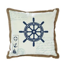 Ship Wheel Pillow