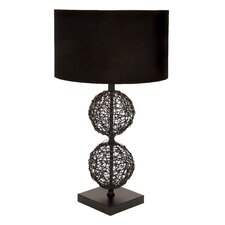 Unique Metal Rattan Table Lamp